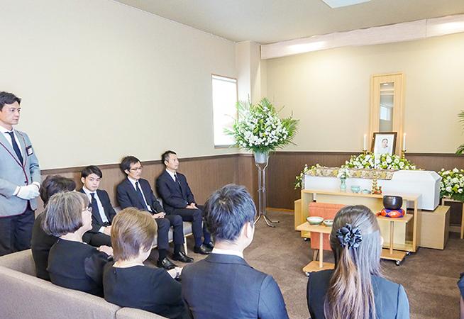 お葬式の会場イメージ