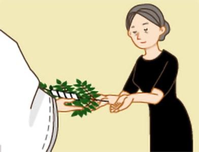 玉串奉奠の作法|手順1