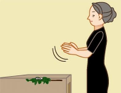 玉串奉奠の作法|手順5