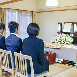 20万円家族葬セットプランのイメージ