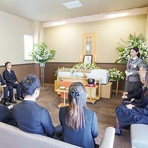 40万円家族葬セットプランのイメージ