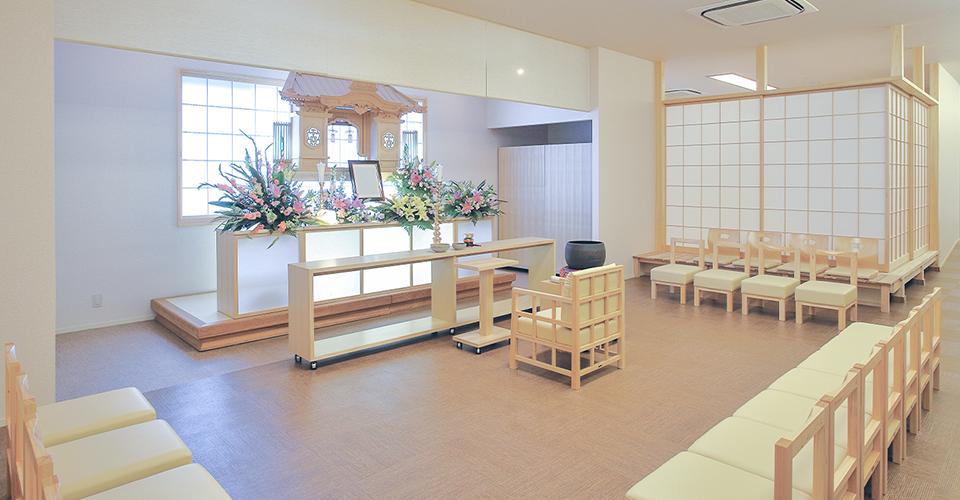 下関 山の田斎場 1Fホール