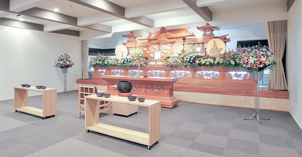 下関 山の田斎場 2Fホール
