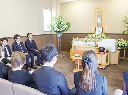 20名家族葬セットプランのイメージ