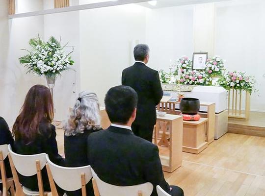 25名家族葬セットプランのイメージ