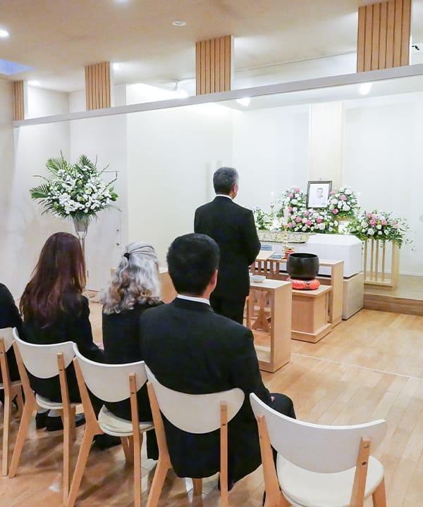 家族葬25名様プランのイメージ