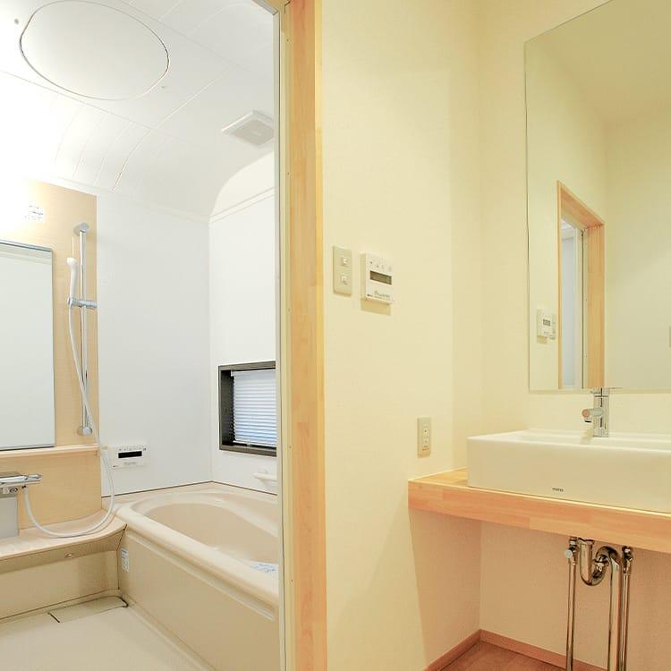 1Fホール・洗面所パウダールーム・浴室
