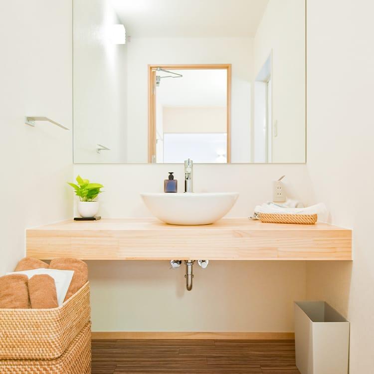 西ホール・親族控室・専用洗面所・パウダールーム