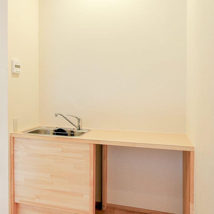 2Fホール・親族控室キッチン