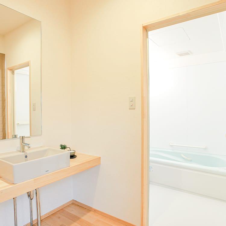 2Fホール・洗面所パウダールーム・浴室